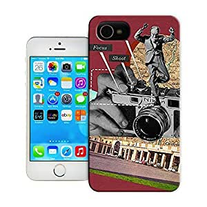 Unique Phone Case Advance Focus Shoot Sammy Slabbinck retro nostalgic collage design Hard Cover for iPhone 4/4s cases-buythecase