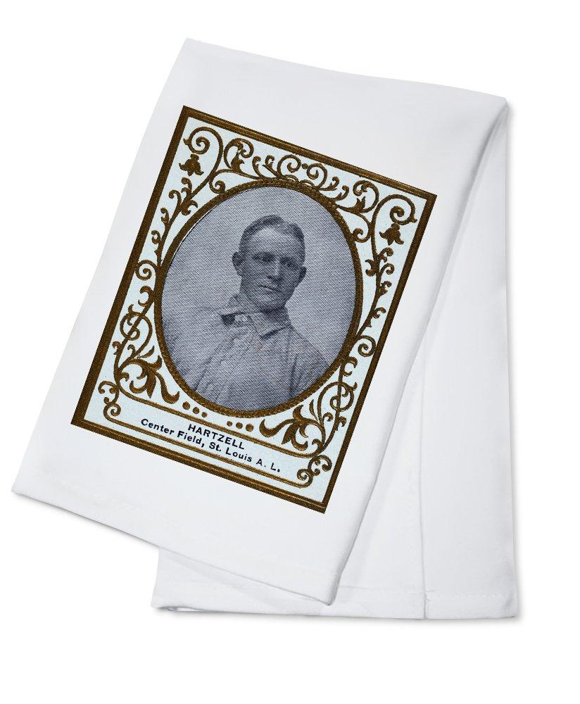 セントルイスBrowns – Roy Hartzell – 野球カード Cotton Towel LANT-23114-TL B0184BAP6A  Cotton Towel