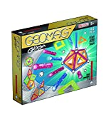 Geomag 44-Piece Glitter Construction Set with Assorted Panels – Mentally Stimulating for Children and Adults – Safe and Construction – For Ages 3 and Up