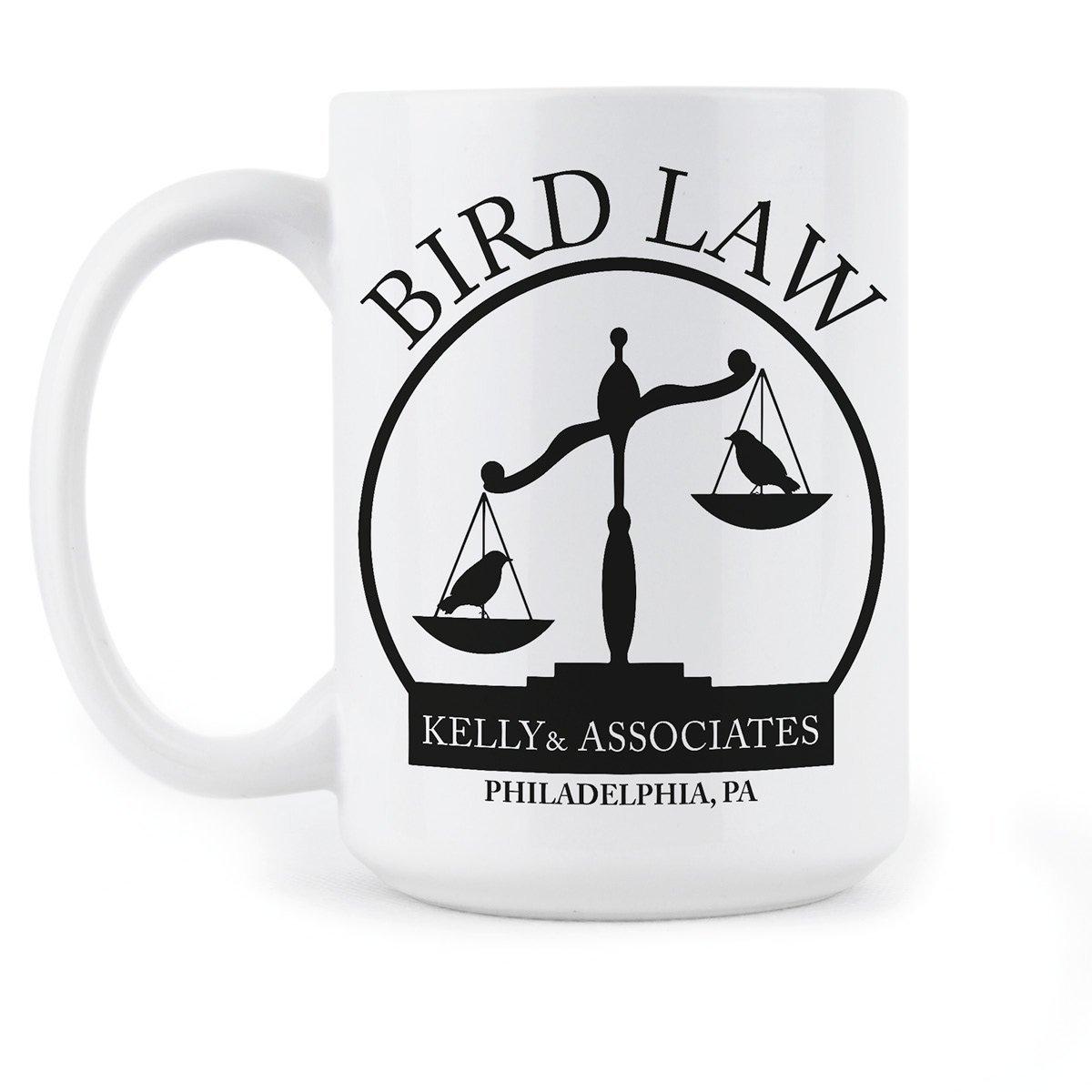 Amazon.com: Kelly and Associates Gift Mug Bird Law Coffee Mugs ...