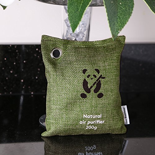 bamboo charcoal air purifier  zoobamboo fragrance  odor eliminator freshener deodorizer