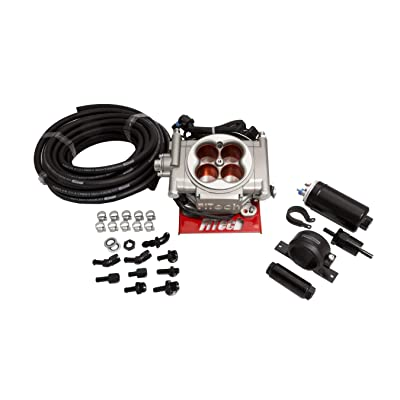 Fitech Fuel Injection Go Street EFI System Master Kit w/ Inline Fuel Pump - 31003: Automotive