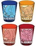 Sonic the Hedgehog 4-Pack Shot Glass