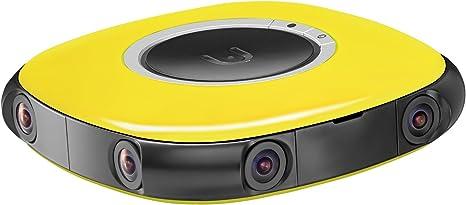 Vuze 3d 360 Degree 4k Vr Camera Yellow Camera Photo