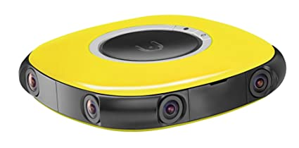 Amazon.com : Vuze - 3D 360° 4K VR Camera - Yellow : Electronics