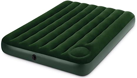 Intex 66928 - Colchón Hinchable, Bomba de Pie Integrada, 137 x 191 x 22