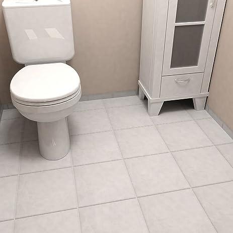 Amazon 1175x1175 Inch Zeta White Ceramic Floor And Wall Tile