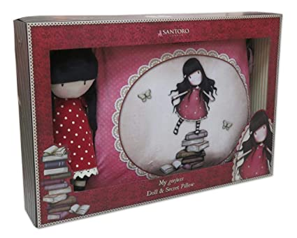CYP BRANDS- Set de Regalo muñeca y cojin Secreto Gorjuss New ...