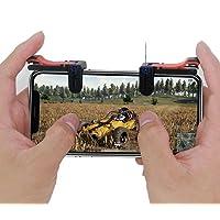 Tüm Telefonlar İçin Oyun Adaptörü PubG Ateş Tetik Düğmesi R1+L1