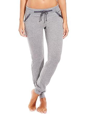 Calvin Klein Mujer Evolve algodón Entrenamiento Pantalones. Grau ...