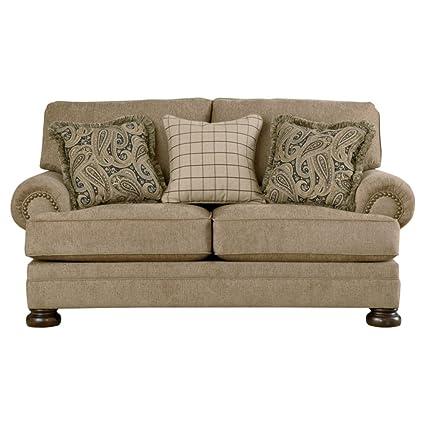 Amazon.com: Ashley Furniture Signature Design - Keereel Sofa ...