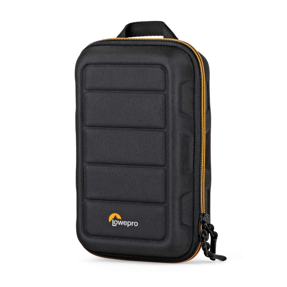 Lowepro Hardside CS 60 Case for Small Drone, 2X Action/Mirrorless Cameras, 1-2 Lenses & Accessories, Black by Lowepro