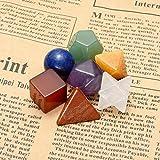 CrystalTears 7 Chakra Healing Crystals Sacred