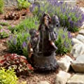 Pure Garden Cascade Rock Fountain