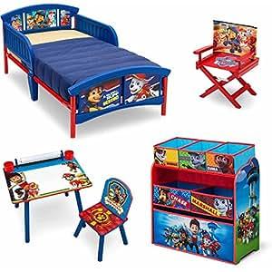 Amazon Com Nick Jr Paw Patrol 5 Piece Furniture Kids Set
