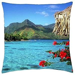 Polynesian Islands - Throw Pillow Cover Case (18