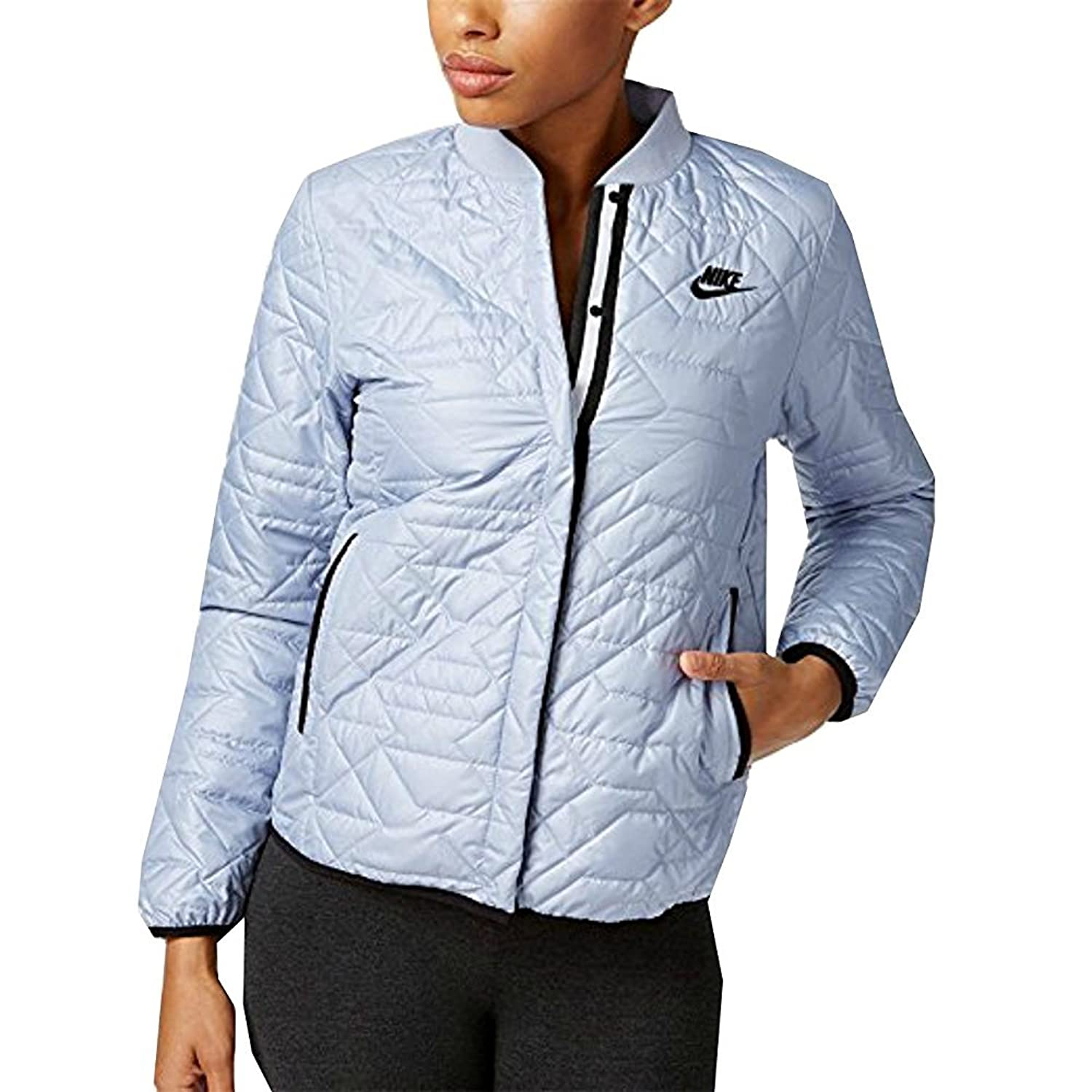 NIKE Sportswear Womens Quilted Weather Resistant Jacket 854747