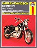 img - for Harley-Davidson Sportsters (1970-97) Owner's Workshop Manual (Haynes Owners Workshop Manuals) by Curt Choate (1998-05-03) book / textbook / text book