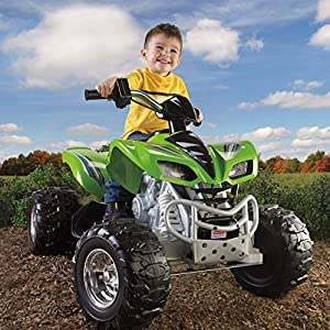 Power-Wheels-Kawasaki-KFX-Green