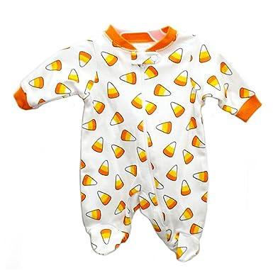 happy halloween infant boys girls candy corn sleeper candycorn sleep n play