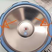Kuhn Rikon 3016 Olla a presión Super rápida con Asas DUROMATIC INOX, 4 litros, 24 cm, Acero Inoxidable, Gris