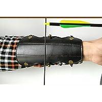 3Z Archery Bogenschießen Schleife Pfeil Schutz Arm Guard Jagd Unterarm für Outdoor Target Shooting Zubehör Sicher Elastic Strap Leder Armband