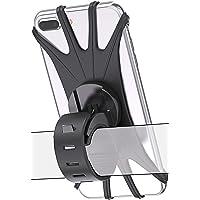 Bovon Bike Phone Mount, 360¡ãRotation Silicone Bicycle Phone Holder, Universal Motorcycle Handlebar Mount Compatible…