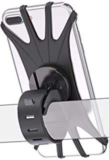 Bicycle Bike Phone Holder Mountain Road Bike Handlebar Mount Bracket silicone US
