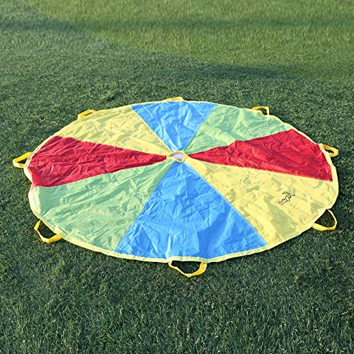 AjaxStore - 20x4x15CM Child Kid Sports Development Outdoor Umbrella Parachute Toy Jump-sack Ballute Play Parachute by AjaxStore (Image #4)