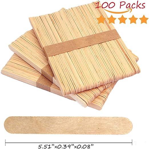 Palillos de madera coloridos para helado y palos de madera de ...