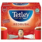 Tetley Redbush Tea Bags - 80 per pack (0.2lbs)