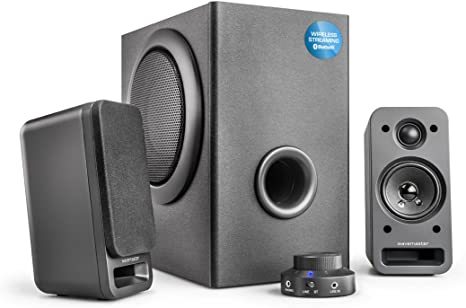 Wavemaster Speaker System Black Mp3 Hifi