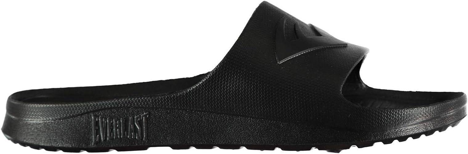 Everlast Sliders  New  Sz 8  EU40  Black  Pool Shoe