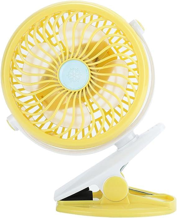 Mini Ventilador, USB Silencioso Recargable Ventilador para Silla ...
