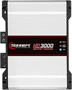 Taramp's HD 3000 1 Ohm Class D Full Range Mono Amplifier