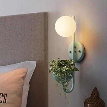 Wall lamp- Einfache Moderne nordische kreative Wohnzimmer Studie ...