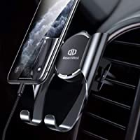 Handyhalter fürs Auto Handyhalterung Auto Smartphone Halterung Kfz Lüftung Halterung mit Automatische Erinnerungsfunktion für iPhone XS/X/8/7/6 Plus Samsung Galaxy S10/S10+/S9/S8/S7 Huawei Mate 20 Pro