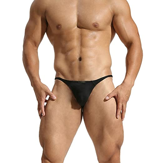 e640d04133f51e Amazon.com: MuscleMate Premium Men's Thong G-String Underwear, Men's Thong  T-Back Underpants.: Clothing