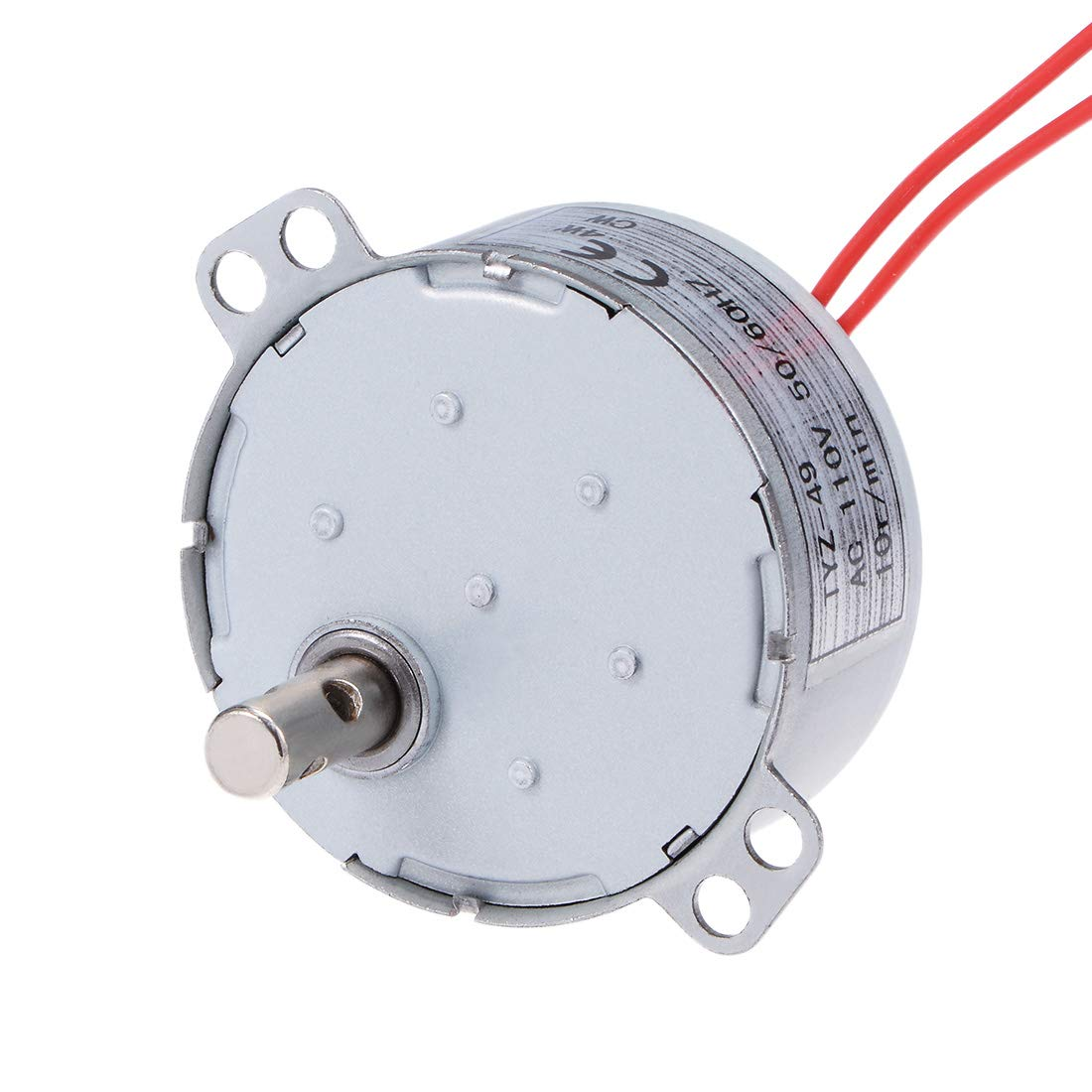 uxcell Synchronous Motor AC 110V 50/60Hz 10RPM CW Torque 4W Turntable Gear Box for Microwave Oven
