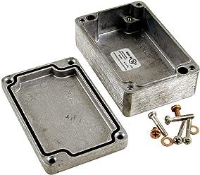 Hammond Electronics 1590DE Universal-Gehäuse 200 x 120 x 64 Aluminium Druckguss