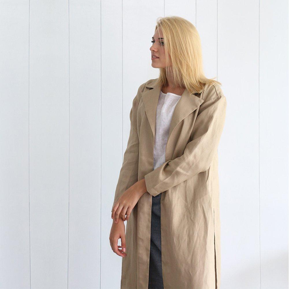 Linen long kimono cardigan/women clothes