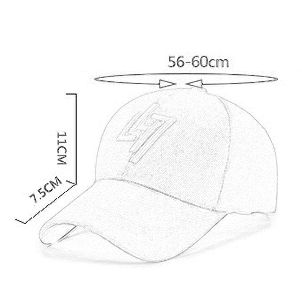 NUBAO Sombrero Gorra De La   Hip Hop Para Hombre (Color Gorra De Protección  Solar Gorras De Béisbol Para Hombres Planas A Lo Largo De La Primavera Y El  ... 51ce7a0f64d