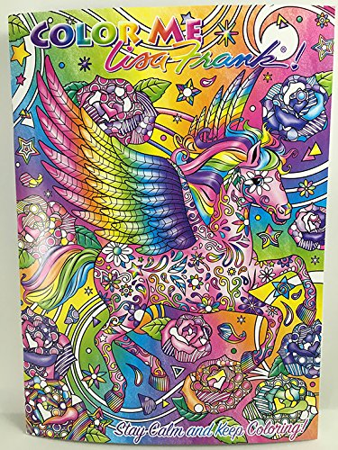 Amazon.com: Color Me Lisa Frank Adult Coloring Book - Unicorn, Bunny ...