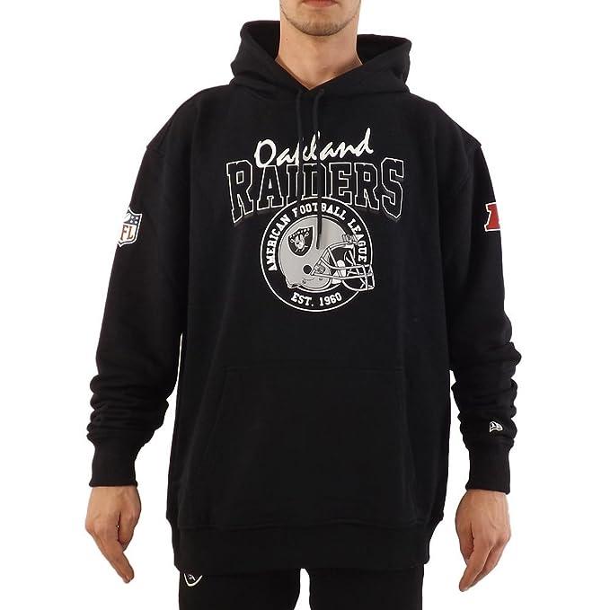 A NEW ERA Era NFL Oakland Raiders F O R Po Sudadera Capucha Hombre Negro XL (X