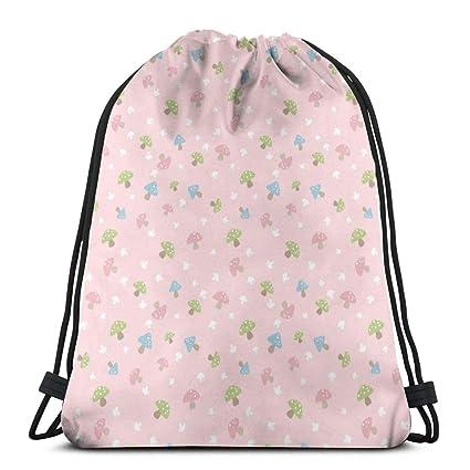 Mush- Pink On Pink_3012 Mochila con cordón Mochila Mochilas ...