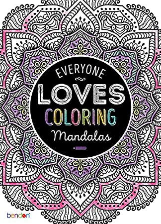 Amazon.com: Bendon 63276 Mandalas Advanced Coloring Book: Bendon ...