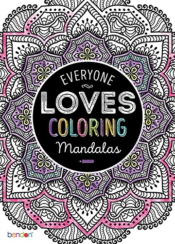 Amazon.com: Bendon 63276 Mandalas Advanced Coloring Book: Bendon ...