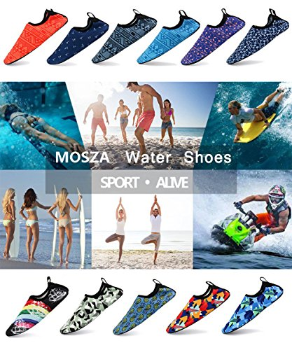 Swim and Womens Beach Mens for Shoes Water Outdoor Summer Surf Aqua 03 Yoga MOSZA Exercise Socks nP1wvxF5nq