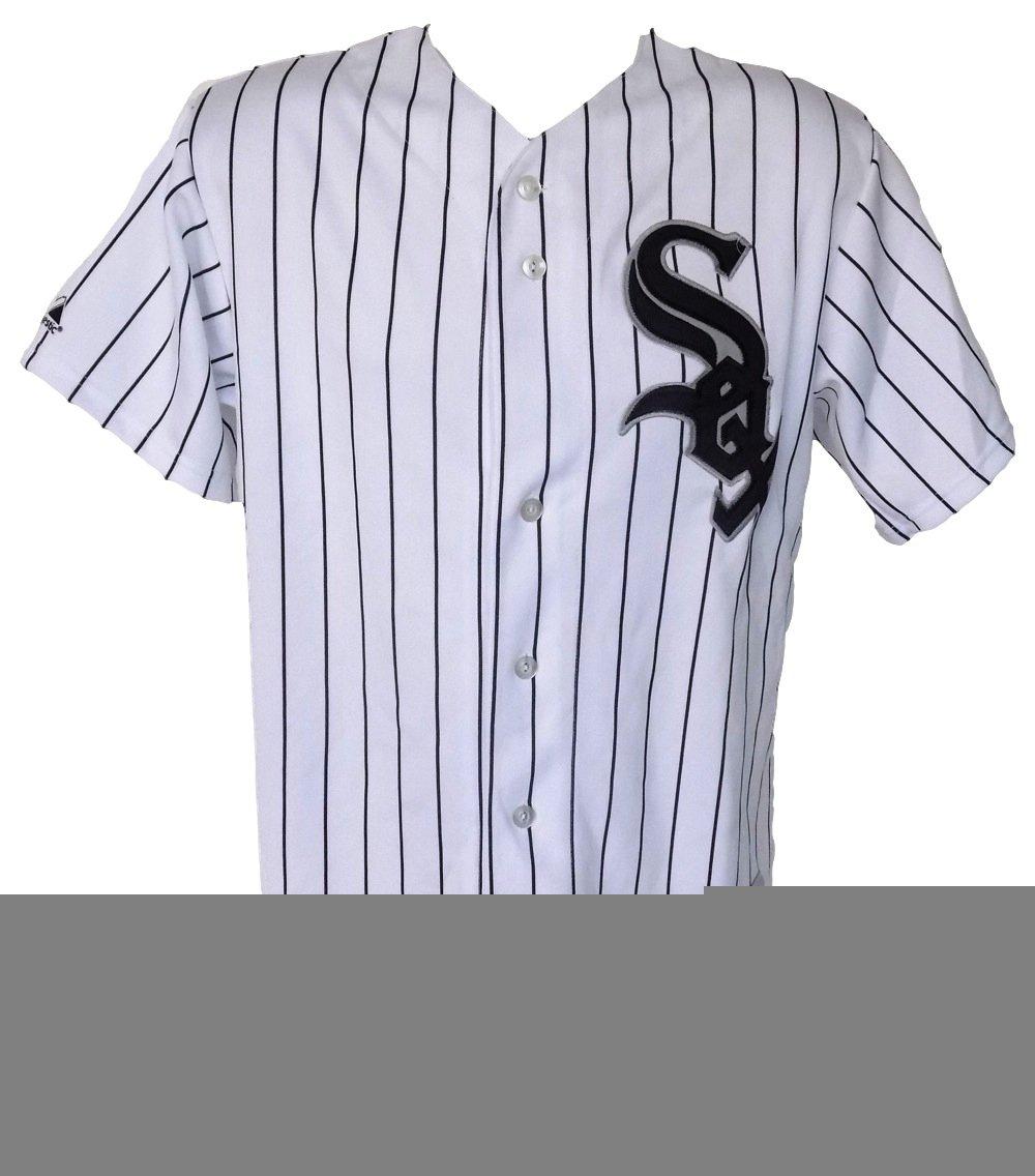 Sports Integrity 15999 Chicago Sox Majestic Replica Jersey44; White - 2XL
