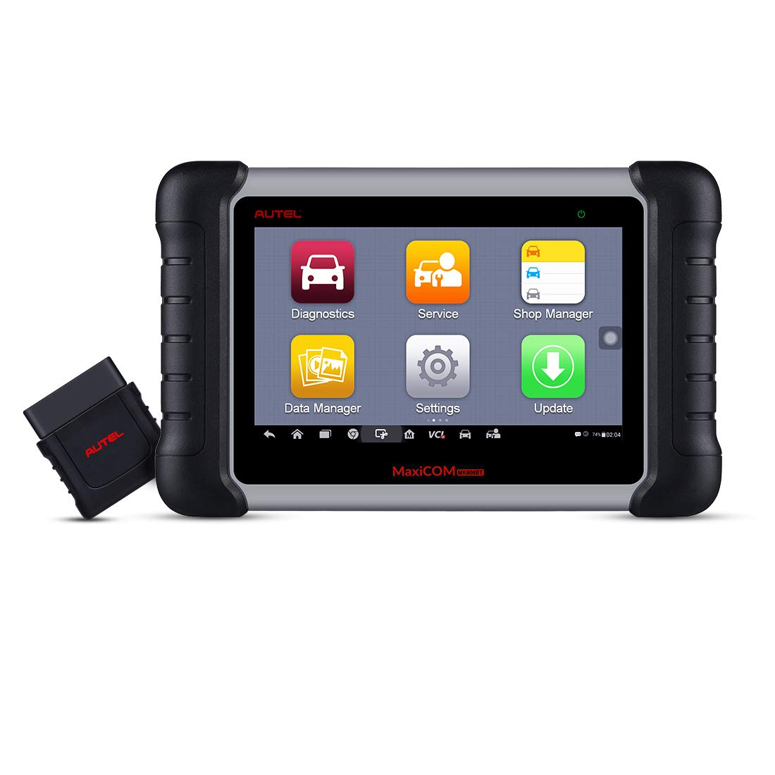 Autel OBD2 Scanner MaxiCOM MK808BT Diagnostic Tool, Upgraded Version of MK808, with MaxiVCI Supports Full System Scan & IMMO/EPB/SAS/BMS/TPMS/DPF